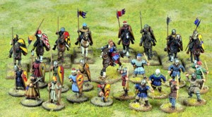 SAGA Crusader Starter Warband (Mixed)