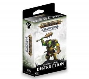 Warhammer Age of Sigmar Champions: DESTRUCTION Campaign Deck