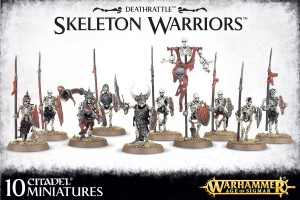 DEATH RATTLE SKELETON WARRIORS