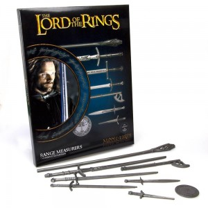THE LORD OF THE RINGS RANGE MEASURERS
