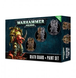 DEATH GUARD + PAINT SET