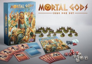 Mortal Gods Box Core Game