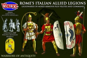 Rome's Latin Allied Legions in mixed armour