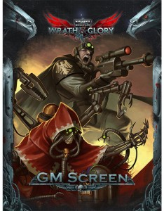 Wrath & Glory GM Screen Warhammer 40000 Roleplay