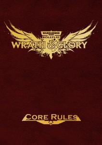 Wrath & Glory Core Rulebook Limited Edition Red Hardcover Warhammer 40000 Roleplay