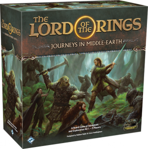 The Lord of the Rings: Journeys in Middle-Earth Board Game ENG