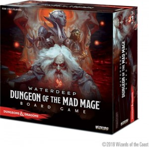 Waterdeep: Dungeon of the Mad Mage Board Game DDN