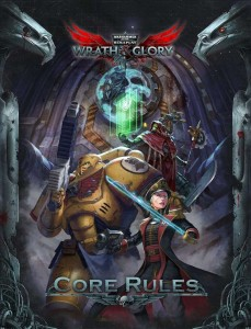 Wrath & Glory Core Rulebook Hardcover Warhammer 40000