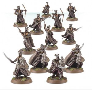 Mirkwood Armoured Elves Warband