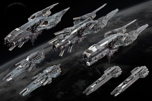 Dropfleet Commander UCM Starter Fleet