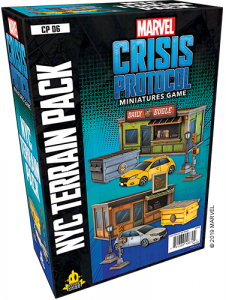 Marvel Crisis Protocol: NYC Terrain Expansion