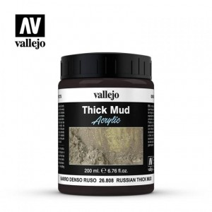 Thick Mud Text. 200ml. Russian Thick Mud