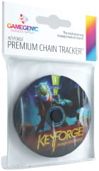 Gamegenic: Keyforge - Premium Shadows Chain Tracke