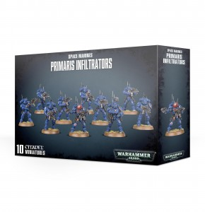 SPACE MARINES PRIMARIS INFILTRATORS / INCURSORS
