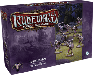 Runewars Miniatures: Reanimates Expansion