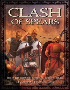 CLASH of Spears - Hardcover Rulebook