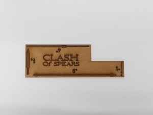 "CLASH of Spears Measuring Tool 1""/2""/4""/6"""
