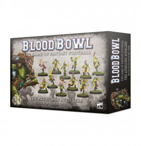 The Athelorn Avengers - Wood Elf Blood Bowl Team