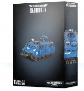 SPACE MARINES RAZORBACK / RHINO