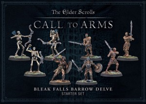 Elder Scrolls: Call to Arms - Bleak Falls Barrow Set (Plastic)