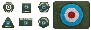 British LW Tokens (x20) & Objectives