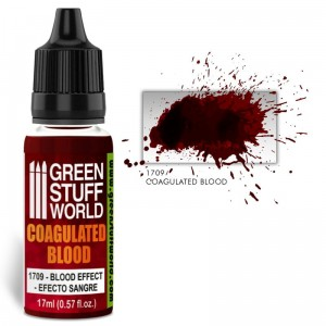 Blood effect paint - COAGULATED  BLOOD 17ml