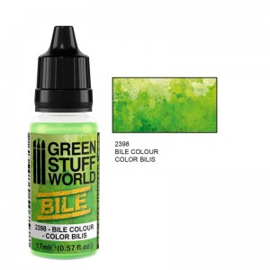 Green Bile Colour paint 17ml
