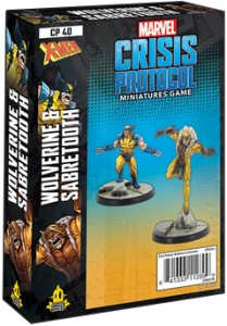 Marvel: Crisis Protocol - Wolverine and Sabretooth