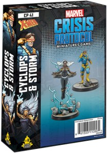 Marvel: Crisis Protocol - Storm and Cyclops