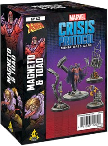 Marvel: Crisis Protocol - Mageneto and Toad