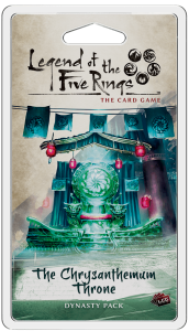 Legend of the Five Rings LCG: The Chrysanthemum Throne - EN