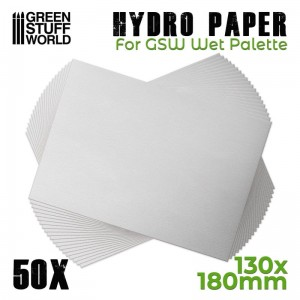 Hydro Paper x50 for GWS Wet Palette