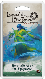 Legend of the Five Rings LCG: Meditations on the Ephemeral - EN