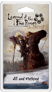 Legend of the Five Rings LCG: All and Nothing - EN