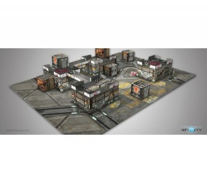 INFINITY Kurage Station Scenery Pack